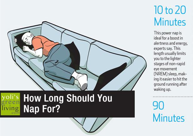How long should i nap
