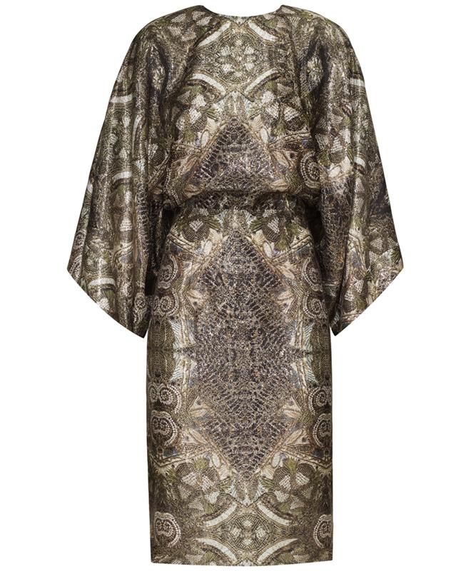 Price: 69,95 USD Description: 60% Tencel, 28% Organic mulberry silk, 12% Metalised fibre