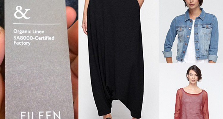 Eileen Fisher Gets Really Fashionably Sustainable