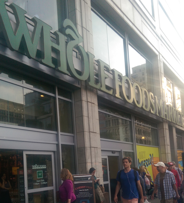 Whole Foods Store Exterior - Union Square