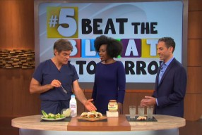 Beat the Bloating with Probiotic Recipes <br>Featured on Dr. Oz