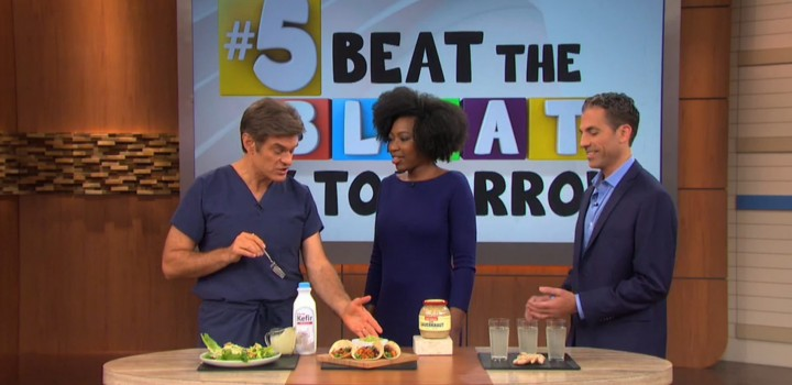 Beat the Bloating with Probiotic Recipes Featured on Dr. Oz